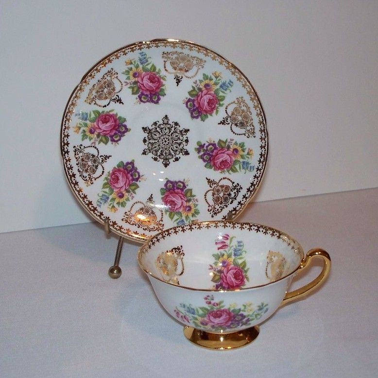 Royal Grafton Golden Heritage Tea Cup and Saucer
