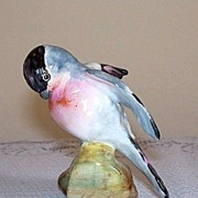 J T Jones Crown Staffordshire Bird - Bullfinch