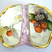 Noritake Cherries Luster Basket