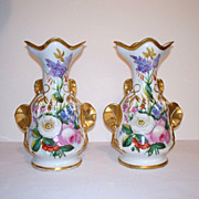 Early 19th Century Pountney and Allies Vases
