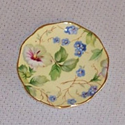 Crown Victorian Tea Bag Plate