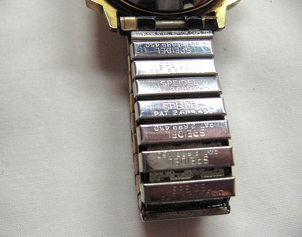 Elgin Women's BHGL09 Black Hills Two-Tone Gold Classic Bracelet Watch