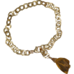 Citrine and 14K Gold-Fill Chain Bracelet