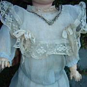 SALE Gorgeous Antique French Doll Dress from Steiner