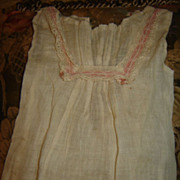 Antique Factory Chemise for French or German Bisque Doll