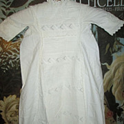 SALE Most Elaborate 43&quot; Antique Christening Gown