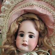 "SOLD 20"" German Mystery Character with Simon-Halbig 949 Face"