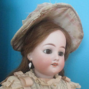 "SALE Stunning 19"" French-Market Kuhnlenz DEP in Exquisite Costume"