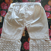Antique German Slip and Bloomers