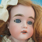 "Lovely 20"" Kestner 166 Antique German Doll"