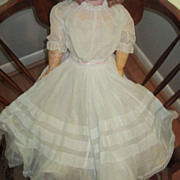 Complete Antique Costume for Large French or German Doll