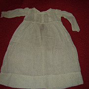 Fine Cotton Dress for China Lady Doll