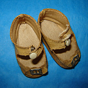 Sweet Vintage Shoes for Shirley, Alexander, Compo Dolls