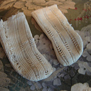 Antique Lacy Socks from Simon-Halbig
