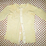 Antique Fancy Undershirt with Crocheted Trim