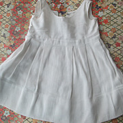 Darling Vintage Cotton Pique Dress