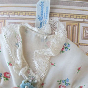 SOLD Vintage Alexander Dressing Gown with Original Flowers