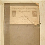 "SALE Rare ""Water Colour Rendering Suggestions"" by Jules Guerin and Maxfield Parrish"