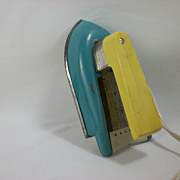 Nassau Child's Toy Electric Iron, 1950s