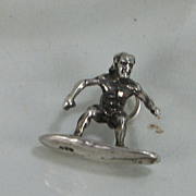 925 Silver Charm - Surfer
