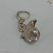 925 Silver Charm - Dolphin