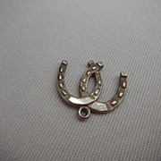 Sterling Silver Charm - Pair of Horseshoes