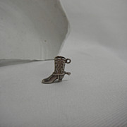 Sterling Silver Charm - Cowboy Boot