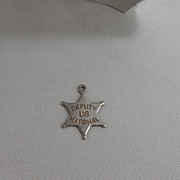 Sterling Silver Charm - Deputy US Marshal (sic) Star