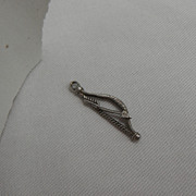 Sterling Silver Charm - Bow and Arrow