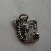 Sterling Silver Charm - Bear Face
