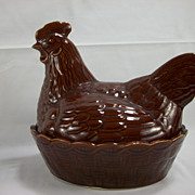 French Brown Nesting Chicken