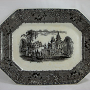 Mulberry Rhone Scenery platter by T J & J Mayer