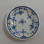 Denmark by Furnivals  Blue and White Butter Pat