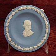 Wedgwood Jasperware Candy or Sweet Dish, President Eisenhower