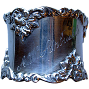 Heavy Gorham Sterling Napkin Ring