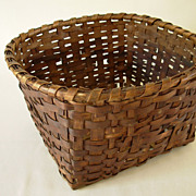Antique Minnesota Splint  Basket