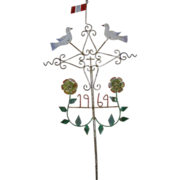Peruvian Folk Art House Blessing Cross
