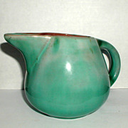 Stangl Turquoise Blue Cream or Milk Pitcher