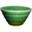 1930's Small Green Crockery Bowl
