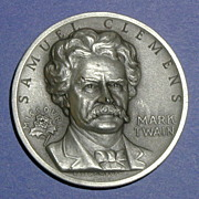 SALE Missouri Silver Statehood Medal - Mark Twain