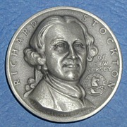 SALE Declaration of Independence Medal - Marquis de Lafayette of New Jersey