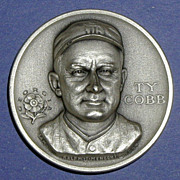 SALE Georgia Statehood Medal - Ty Cobb