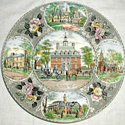 Adams Jonroth Williamsburg Plate - Governor's Palace