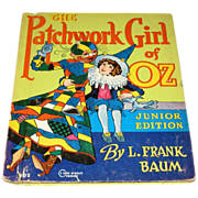 SALE The Patchwork girl of Oz junior edition by L. Frank Baum #302 1939
