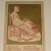SALE Victorian Trade Card Dry Goods Store  Denver Colorado