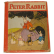 1934 Peter Rabbit Henny Penny & Puss In -Boots Hardcover Collectible Book