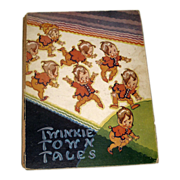 SALE Vintage Twinkie Town Tales Book 1930's by C Emery Whitman Publishing