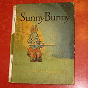 SALE Sunny Bunny Vintage Book 1927 by Putnam HB