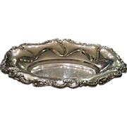 REDUCED Beautiful Vintage Ornate William Adams Towle Silver Plate Bowl Spain