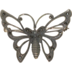 Vintage FAS signed Sterling Silver& Marcasite  Butterfly Brooch Pin